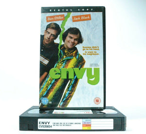 Envy: Film By B.Levinson - Comedy - Large Box - Ex-Rental - Jack Black - Pal VHS