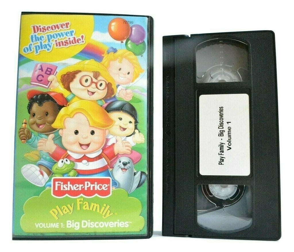 Play Family, Vol.1: Big Discoveries - Animated - Educational - Children's - VHS