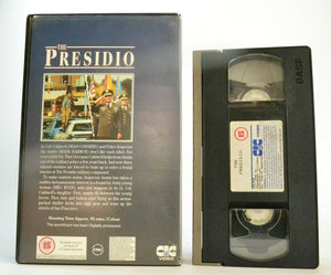 The Presidio (1988) - Police Drama - Large Box - Sean Connery/Meg Ryan - Pal VHS