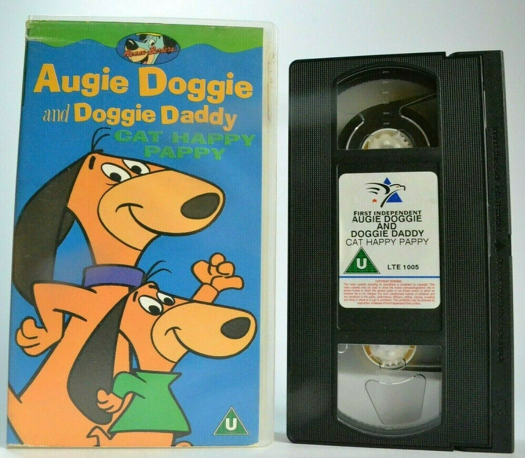Augie Doggie And Doggie Daddy: Cat Happy Pappy - Animated - Children's - Pal VHS