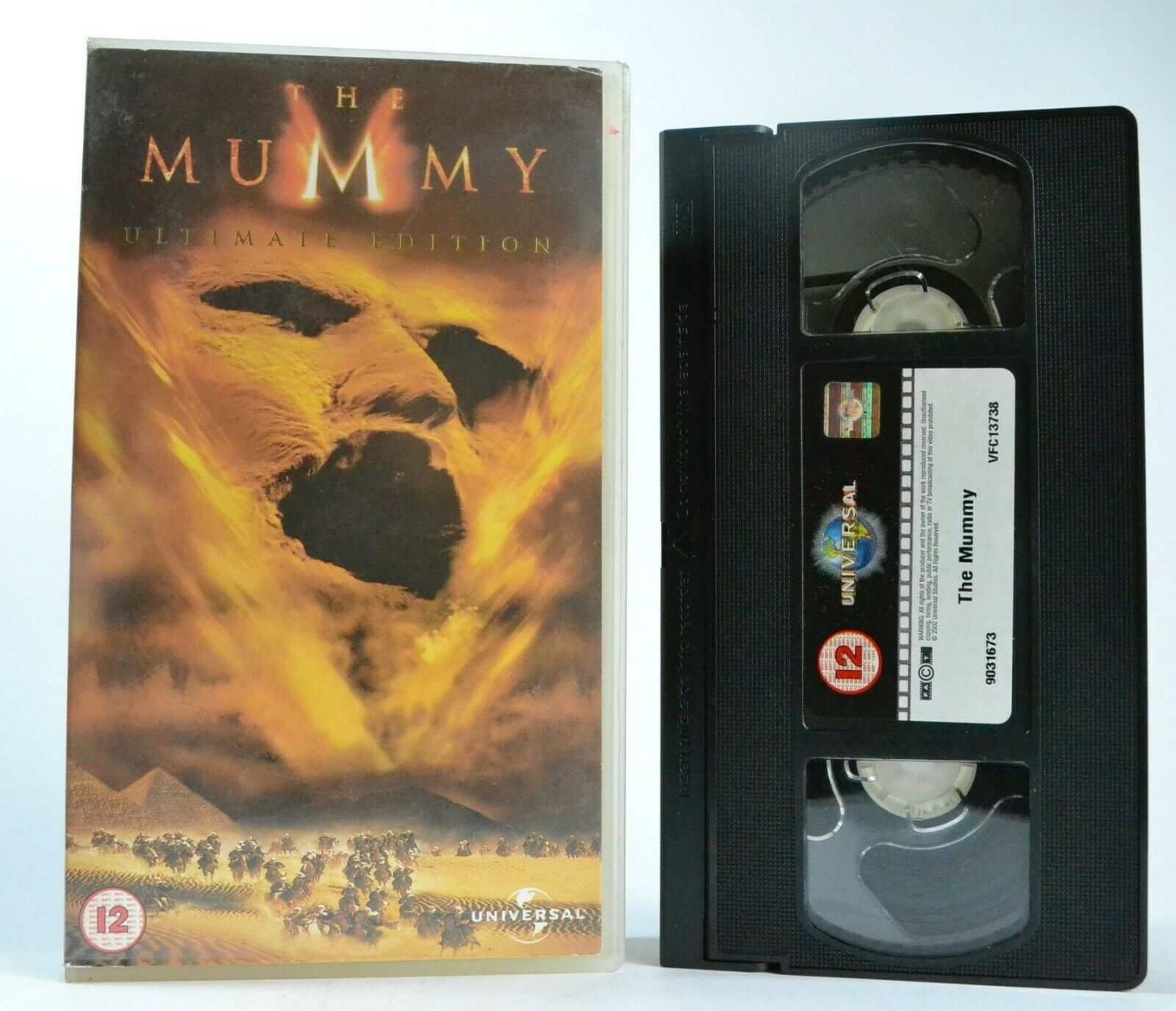 The Mummy (1999): Ultimate Edition - Action/Adventure - B.Fraser/R.Weisz - VHS