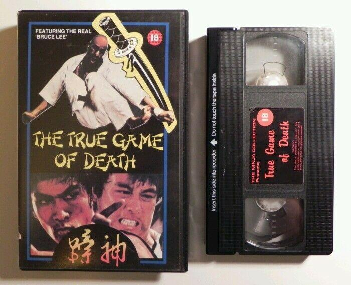 True Game Of Death - Hsao Lung - The Ninja Collection - Big Box - Pre Cert - VHS