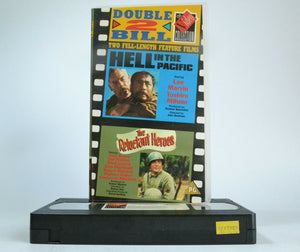 Hell In The Pacific/The Reluctant Heroes: Double War Films - Lee Marvin - VHS