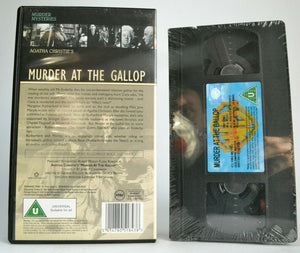 Murder At The Gallop; [Agatha Christie]: Drama (New Sealed) Robert Morley - VHS