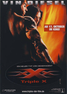 xXx; [Free Postcard] Action Adventure - Big Box - Vin Diesel/Asia Argento - VHS