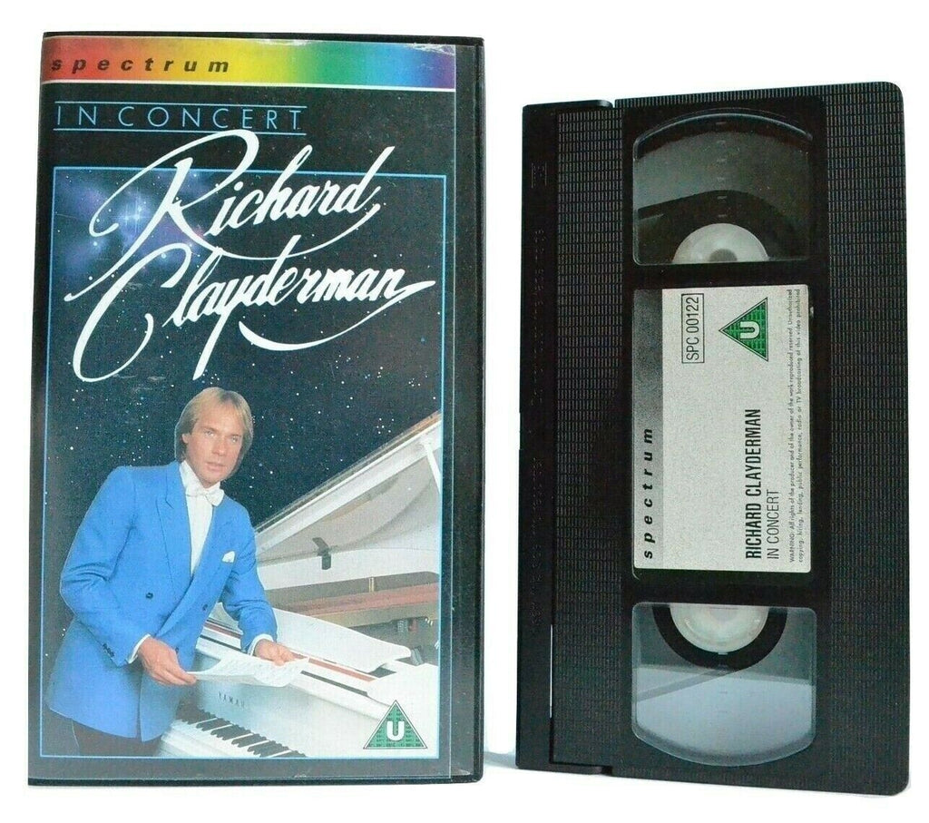 Richard Clayderman: In Concert - Live Performance - Pianist - Music - Pal VHS