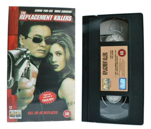 The Replacement Killers (1998): Kill Or Be Replaced - Action - M.Sorvino - VHS
