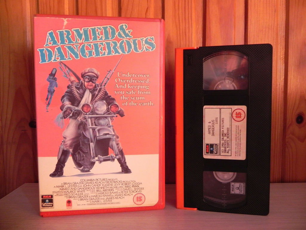 Armed And Dangerous - John Candy - Great Comedy - RCA Columbia - CVT 11031 - VHS