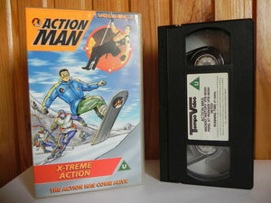 Action Man Volume 2: X-Treme Action - Animated - Adventure - Children's - VHS
