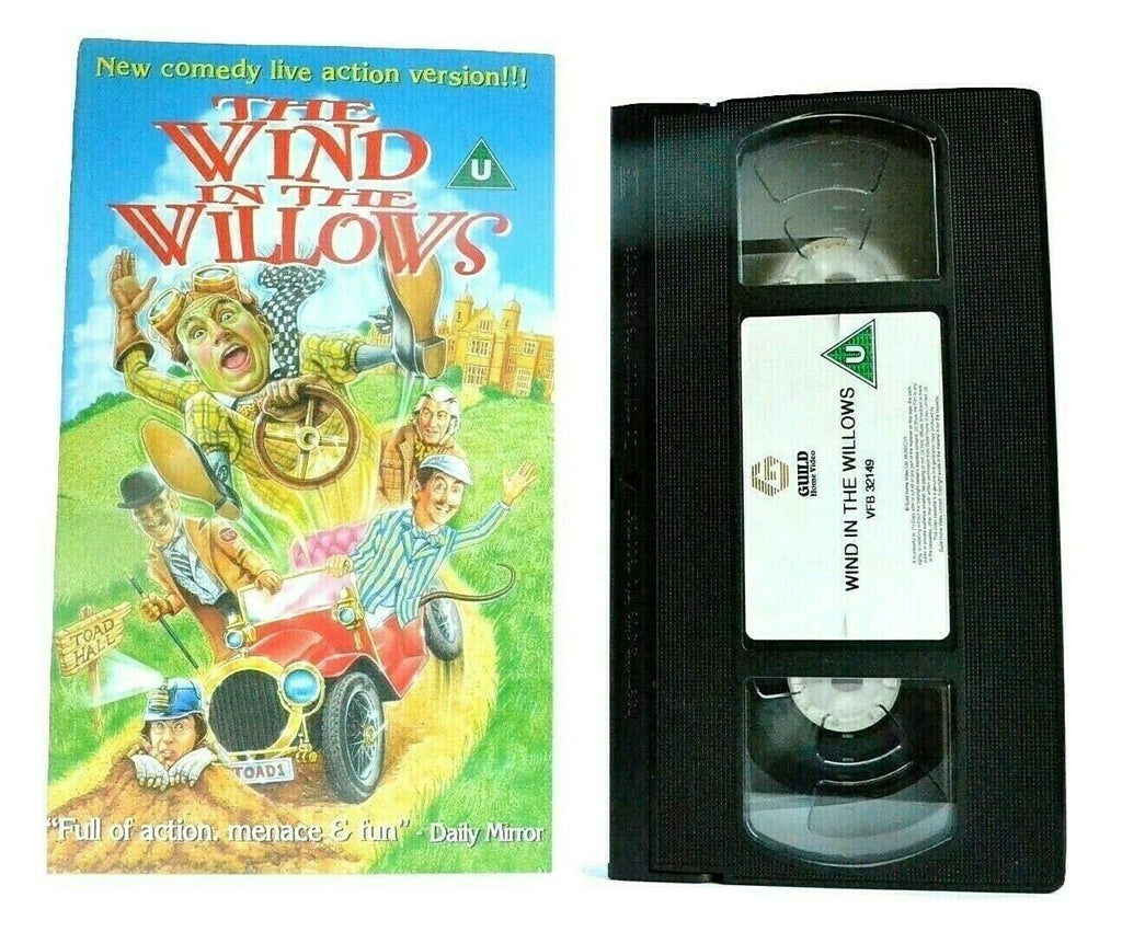 The Wind In The Willows (1996): Terry Jones Film - Children's Comedy - Pal VHS