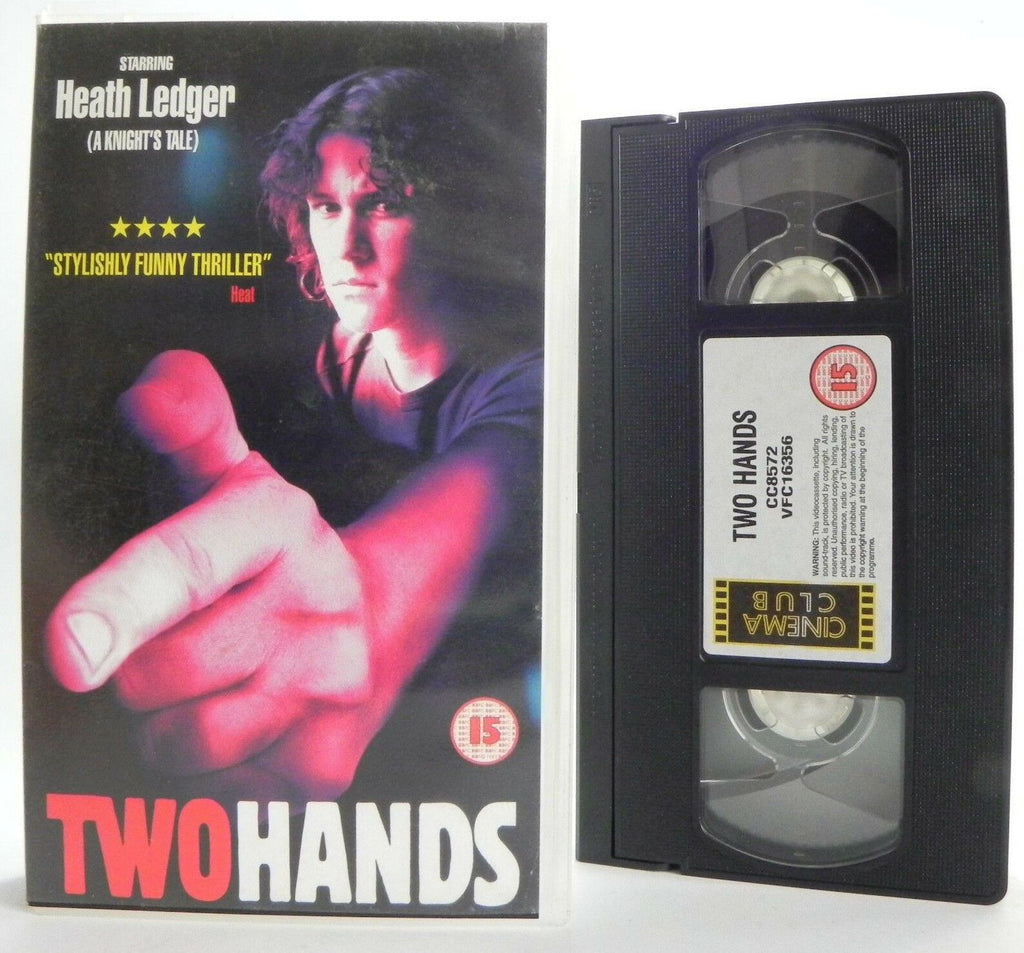 Two Hands: G.Jordan Film - Thriller (1998) - Heath Ledger - Susie Porter - VHS