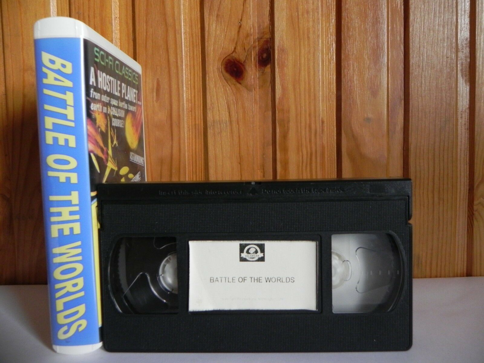 1961, Classic, Halemark, Sci-Fi & Fantasy, VHS, Worlds