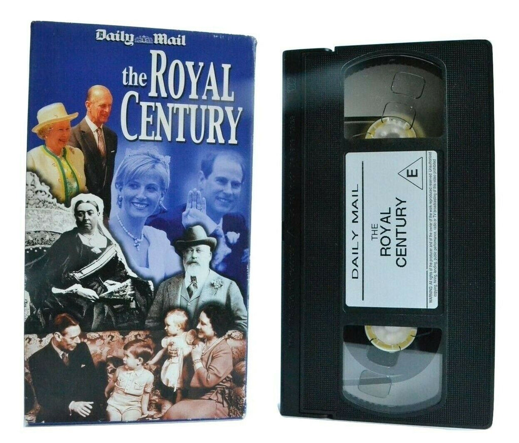 The Royal Century: By Daily Mail - Carton Box - Documentary - Royal Family - VHS