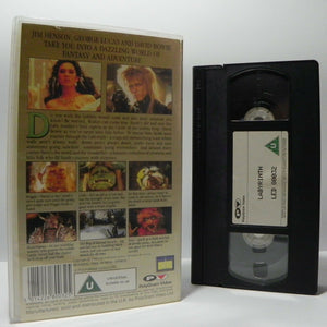 Labyrinth (1986): David Bowie / Jennifer Connelly - Musical Fantasy - Pal VHS