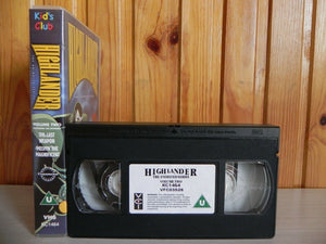 Highlander - The Animated Series - Volume Two - Two Episodes - Vintage - Pal VHS