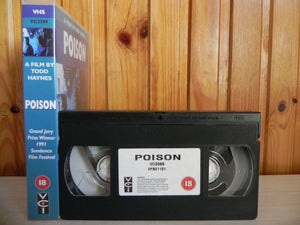 Poison - VCI - 1990 Bronze Eye Production - Edith Meeks - Larry Maxwell - VHS