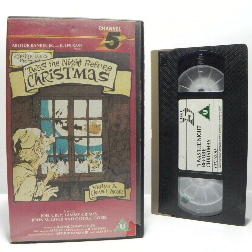 Animation, Before, By, Children's & Family, Christmas, Classic, Kids, Night, PAL, The, U, United Kingdom, VHS