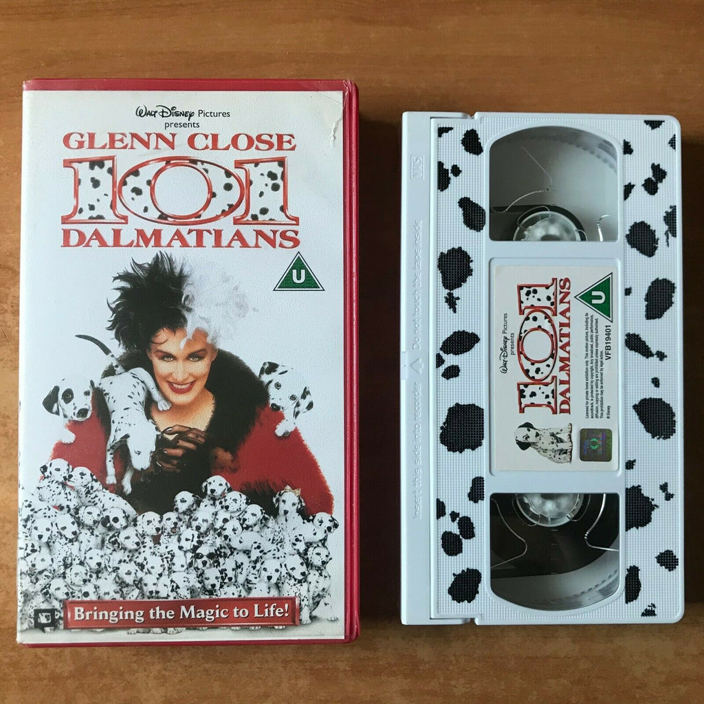 101, 101 Dalmatians, 1996, Children's, Children's & Family, Close, Dalmatians, Disney, Glenn, PAL, VHS, Walt