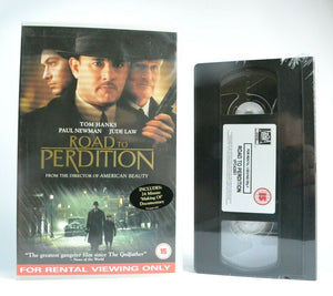 Road To Perdition: Brand New Sealed - Crime Action - Tom Hanks/Paul Newman - VHS