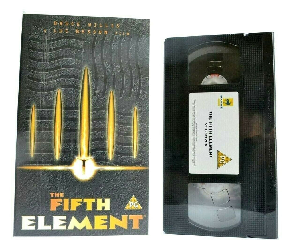The Fifth Element (1997): Brand New Sealed - Sci-Fi - Bruce Willis - Kids - VHS