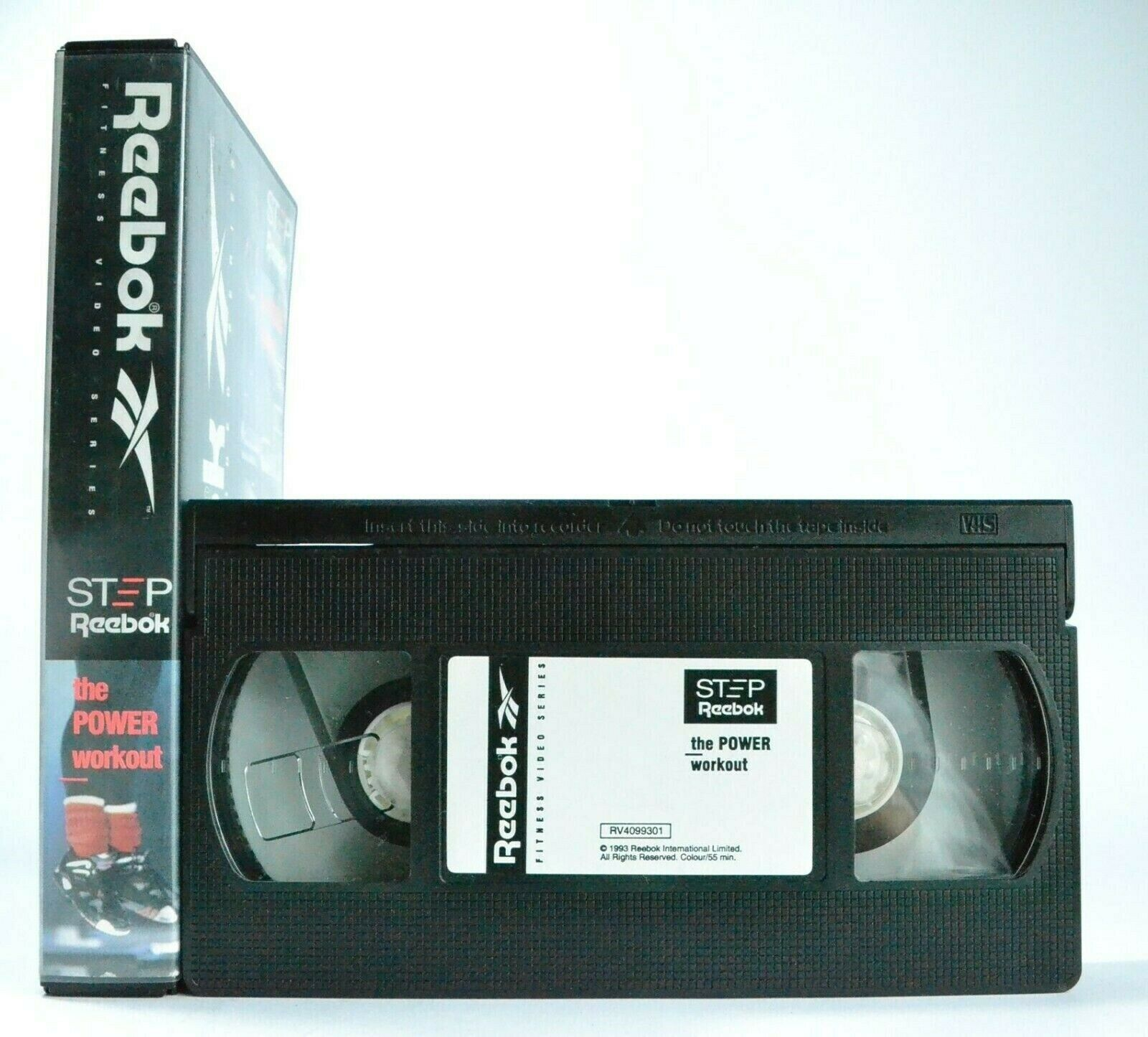 Reebok: Fitness Video Series - By Gin Miller - Power Workout - Exercises - VHS