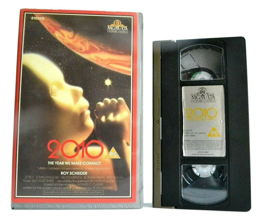 2010: U.S./Soviet Jupiter Expedition - Sci-Fi Adventure - Roy Scheider - Pal VHS