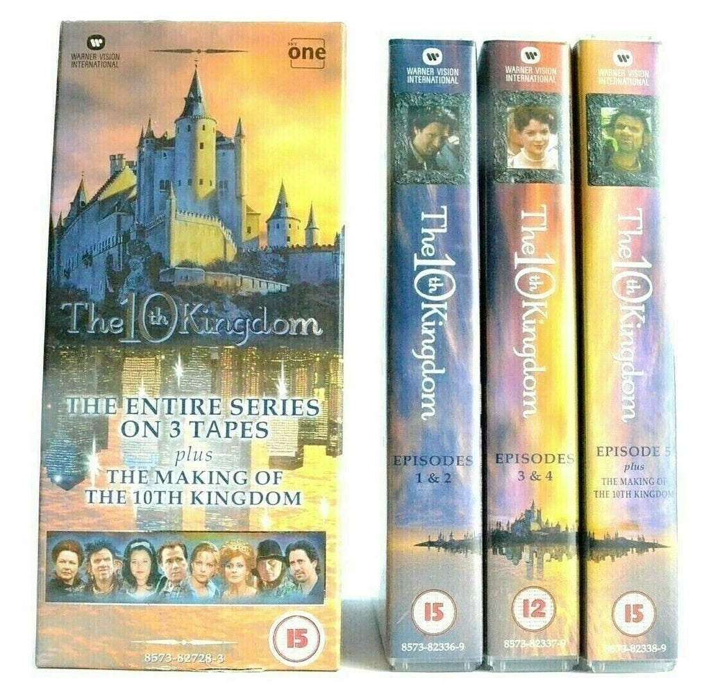 The 10th Kingdom: Episodes 1-5 - Modern Fantasy Series - Rutger Hauer - Pal VHS
