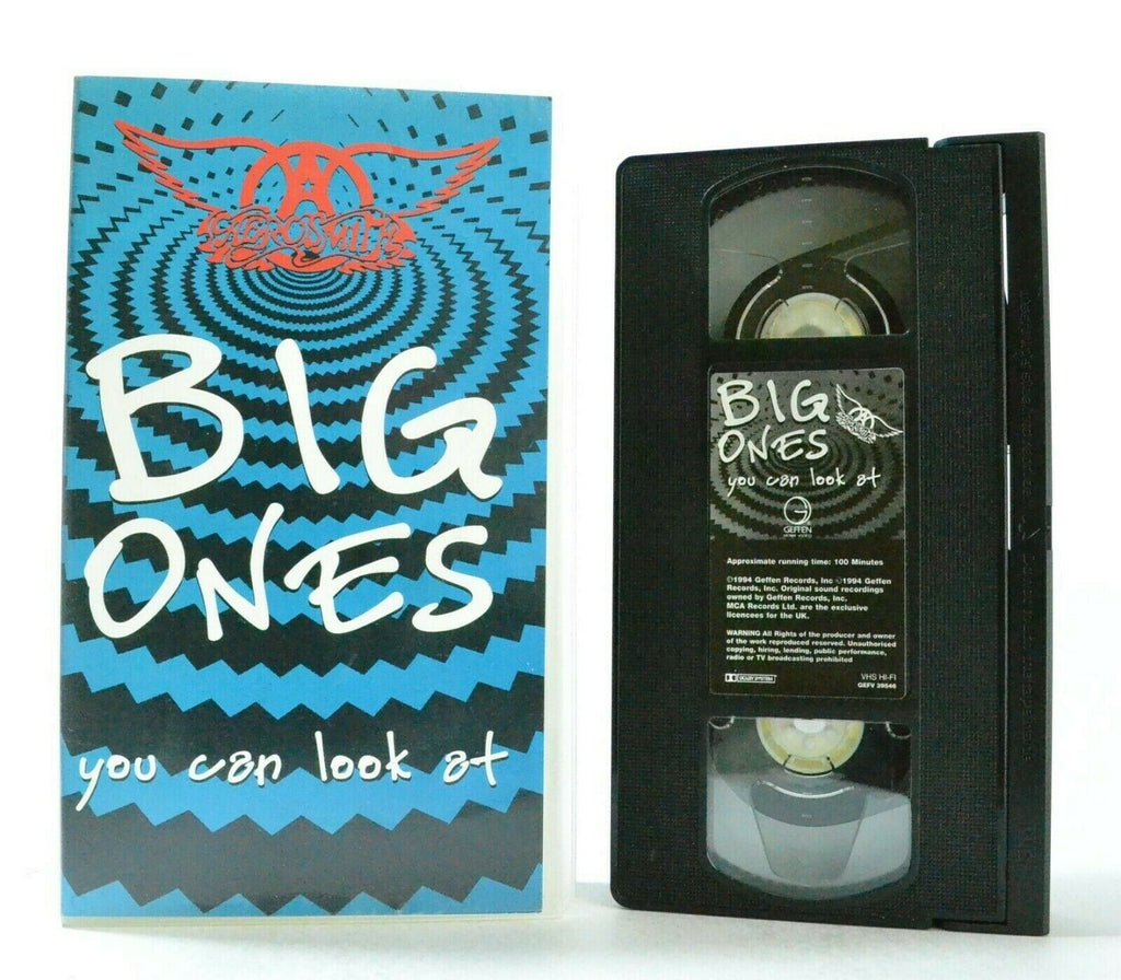 Areosmith: Big Ones You Can Look At - Music Videos - Classic Rock Band - Pal VHS