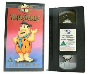The Flintstones: A Star Is Almost Born - Hanna-Barbera - Animated - Kids - VHS