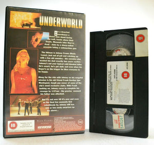 Underworld: (1996) Thriller - Large Box - Ex-Rental - D.Leary/J.Mantegna - VHS