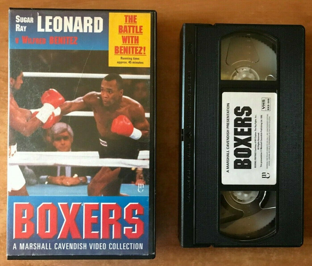 Sugar Ray Leonard / Wilfred Benitez (Marshall Cavendish Collection) Boxing - VHS