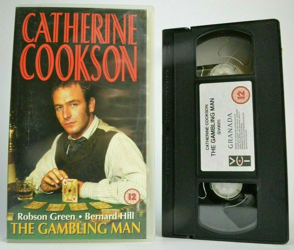 The Gambling Man; [Catherine Cookson] - Drama Miniseries - Robson Green - VHS