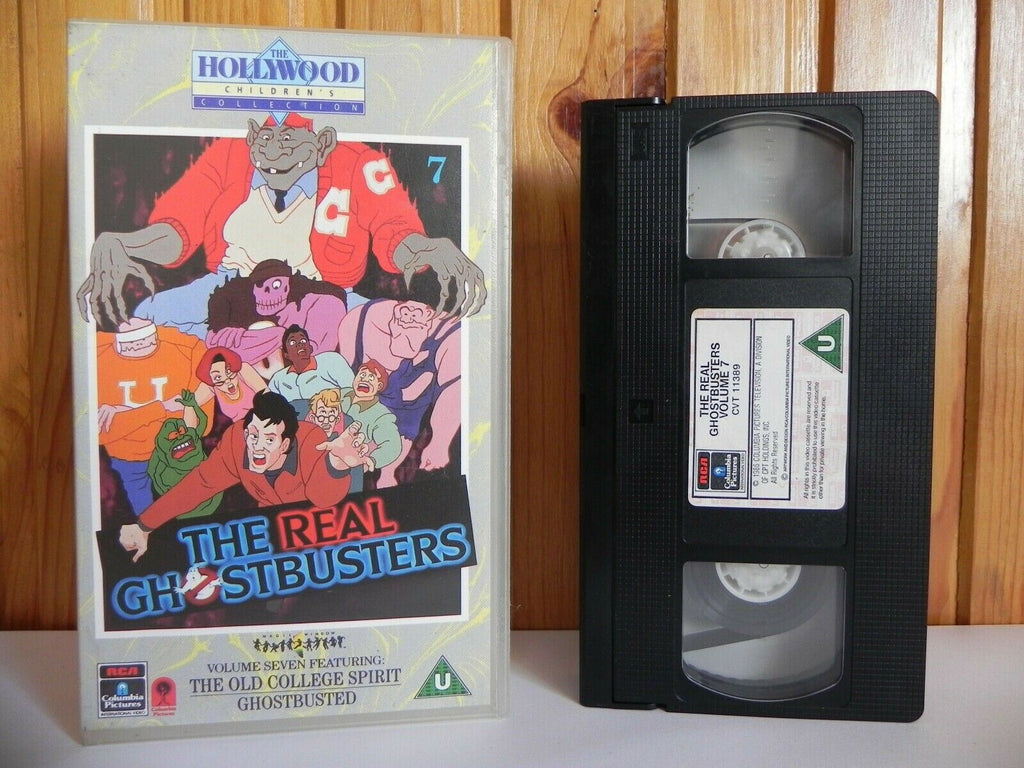 The Real Ghostbusters - Volume 7 - The Old College Spirit - Ghostbusted - VHS