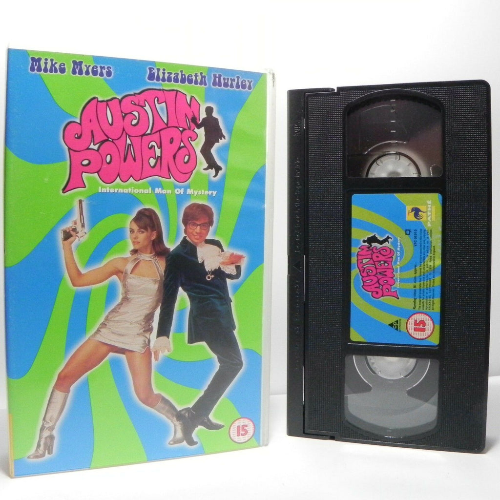 Austin Powers: Classic Comedy - (1999) Pathe - Mike Myers/Elizabeth Hurley - VHS