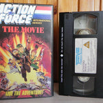 1990, Action, ActionForce, Adventure, Animation, Children's & Family, Force, G.I. Joe, Heroes, International, Live, Movie, Pal, PG, The, U, United Kingdom, VHS