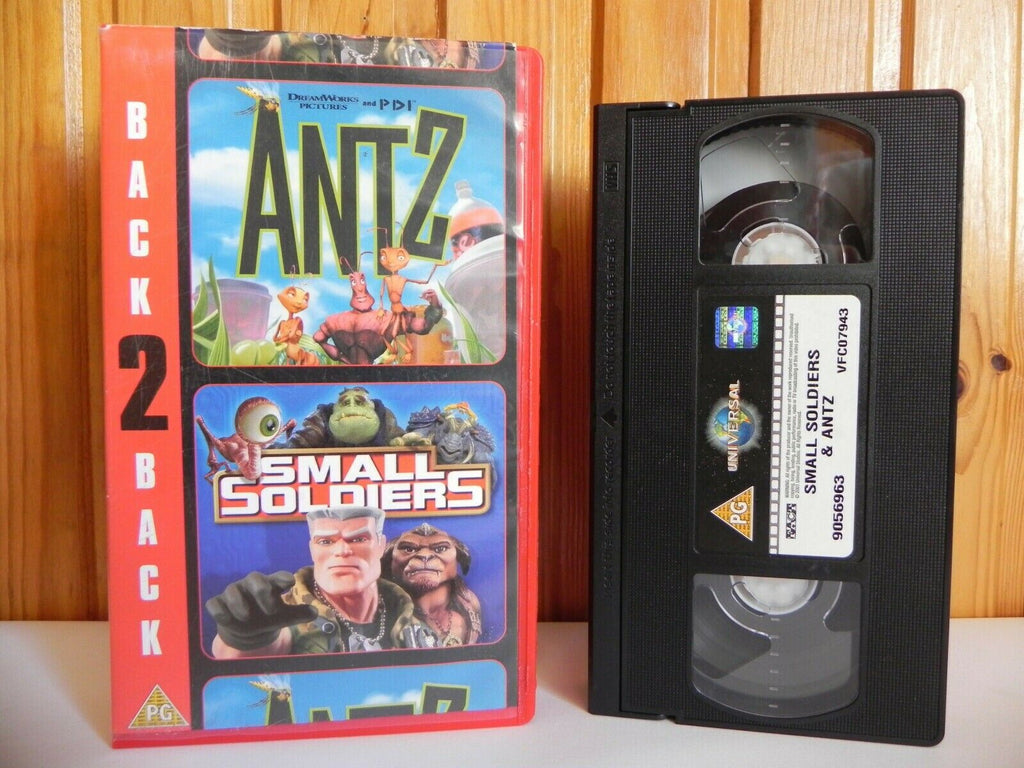 2002, Animated, Anne Bancroft, Back, Children's & Family, Eric Darnell, Pal, PG, Soldiers, U, United Kingdom, Universal, VHS