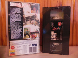 Sudden Death - Van Damme - Martial Arts - New And Sealed - Universal VHS - Video