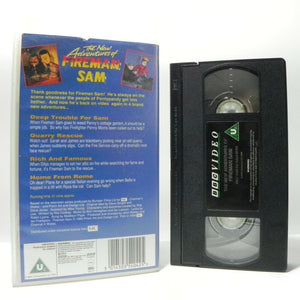 The New Adventures Of Fireman Sam - BBC Animated Classic - Children's - Pal VHS