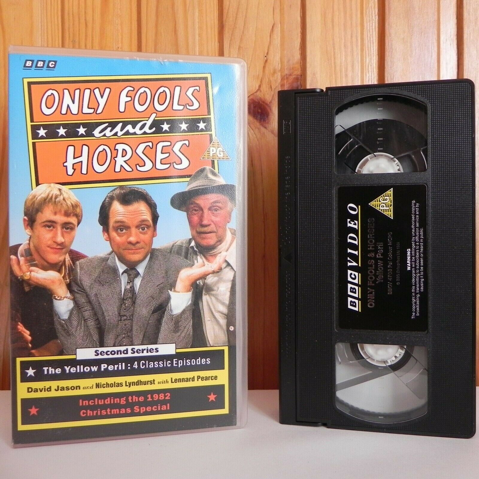 Only Fools And Horses - BBC - Second Series - 4 Classic Episodes - TV Show - VHS