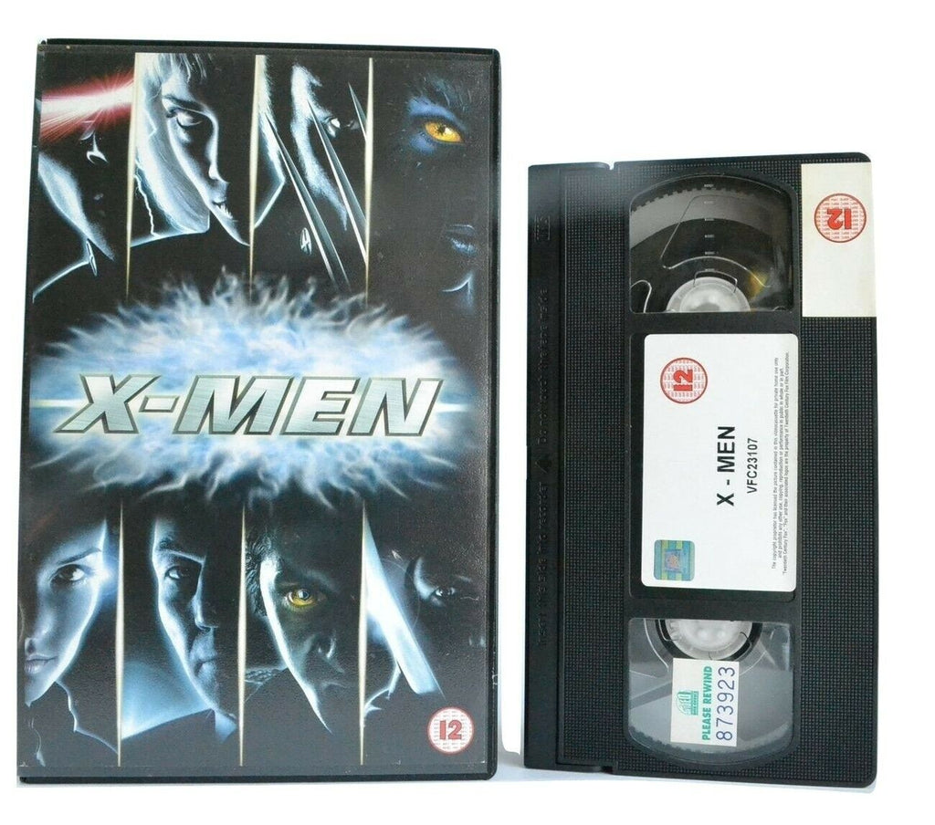 X-Men (2000): Superhero Movie - Large Box - Hugh Jackman/Halle Berry - VHS
