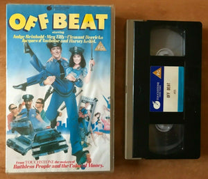 Off Beat (1986): Crime Action - Comedy [Large Box] Judge Reinhold - Pal VHS