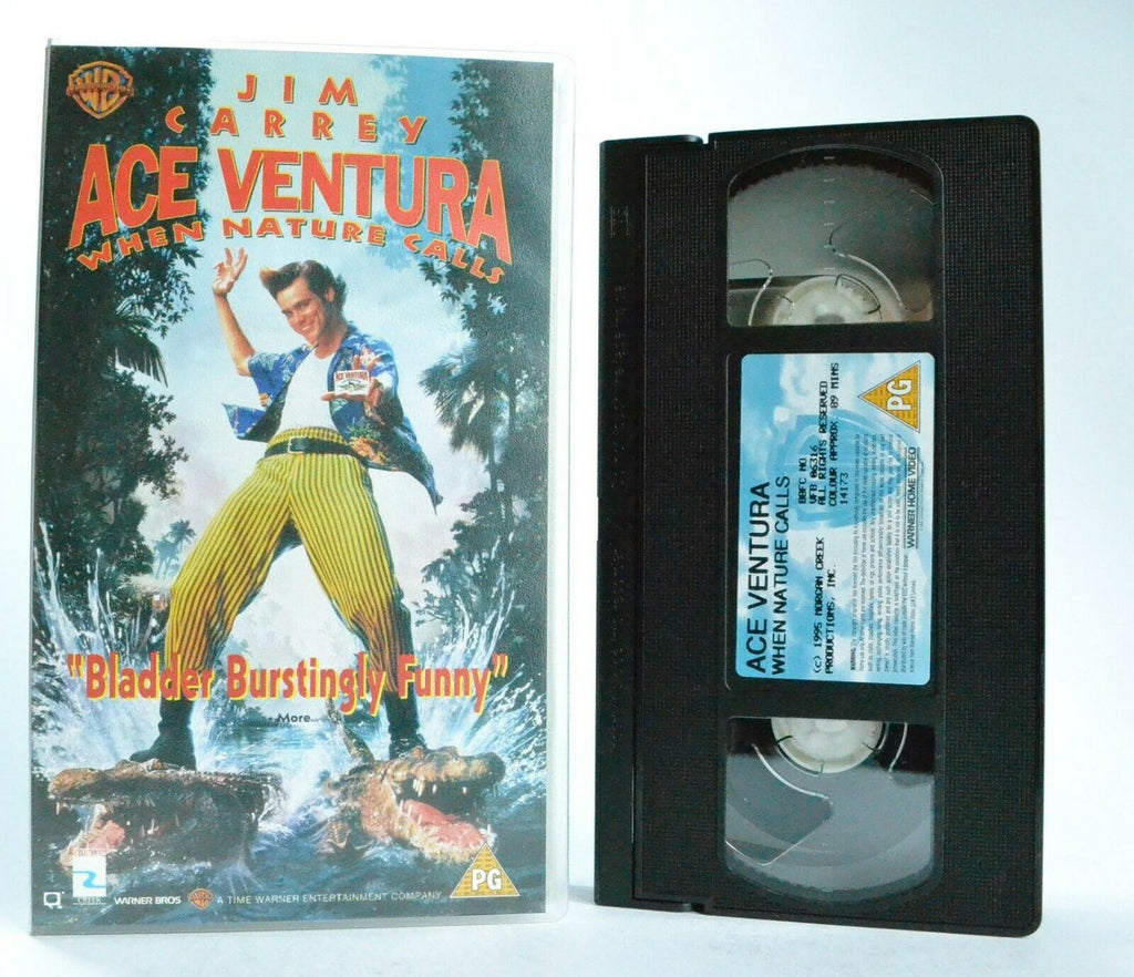 Ace, Animal, Calls, Comedy, Detective, Nature, Pal, VHS, When