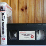 Widescreen: Usual Suspects - Thriller - Benicio Del Toro - Kevin Spacey - VHS