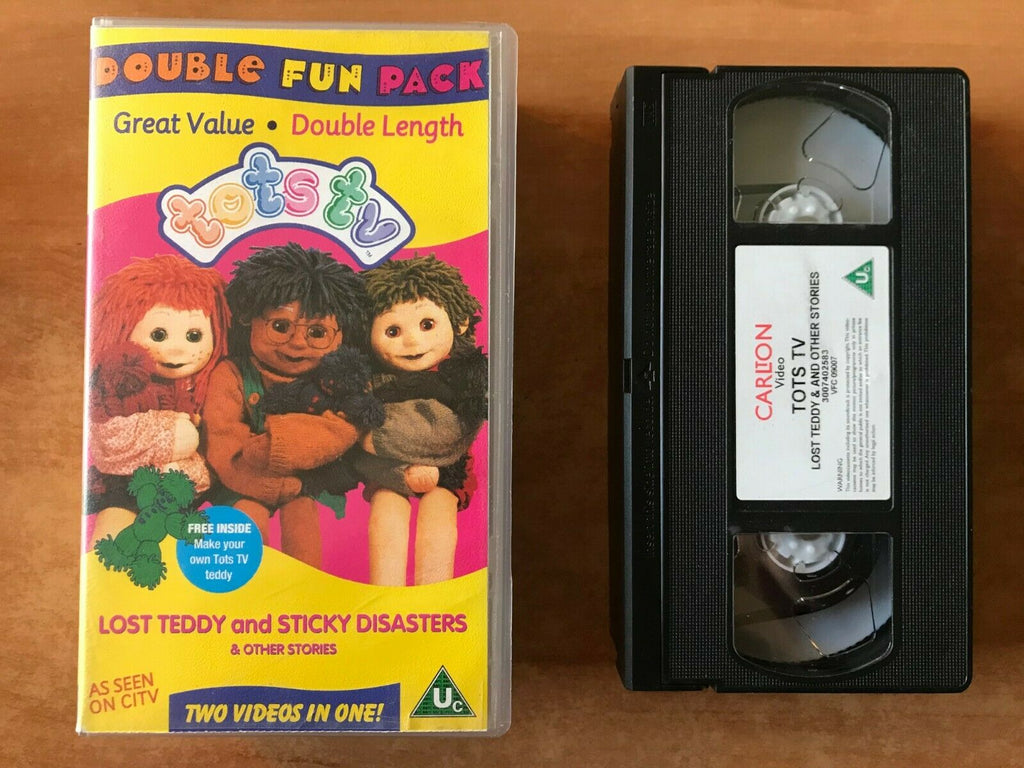 Tots TV; [Double Length]: Lost Teddy (Poster Included) Ragdolls - Kids - Pal VHS