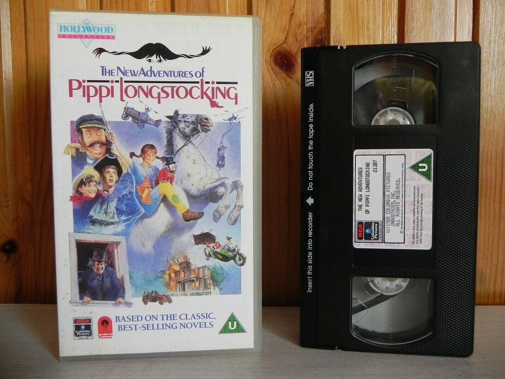 The New Adventures Of Pippi Longstocking - Columbia Pictures - Tami Erin - VHS