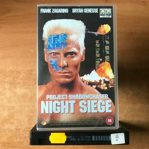 Project Shadowchaser: Night Siege (1994): Action Sci-Fi [Large Box] Rental - VHS
