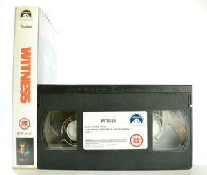 Witness: Peter Weir Film - Crime Thriller - Harrison Ford/Kelly McGillis - VHS