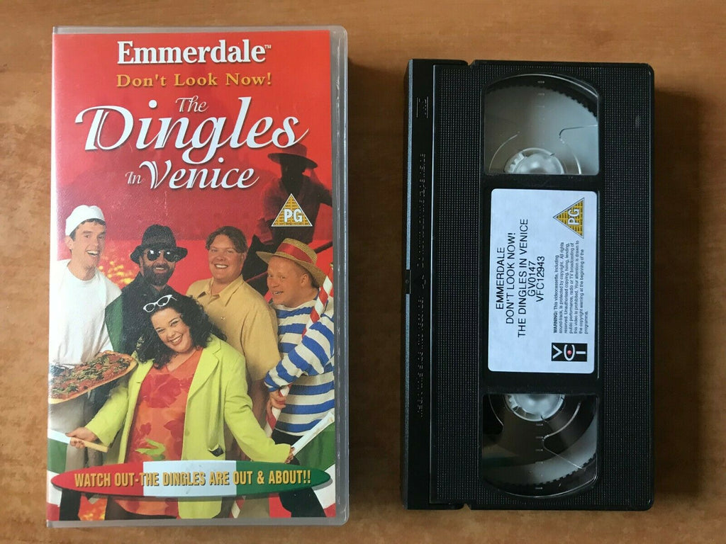 Emmerdale (Don't Look Now): The Dingles In Venice - Comedy - Lisa Riley - VHS