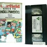 Garfield Goes To Hollywood - Animated - Musical Adventures - Children's - VHS