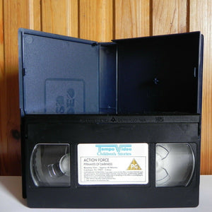 Action Force: Pyramids Of Darkness - Action Adventure - Animated - Kids - VHS